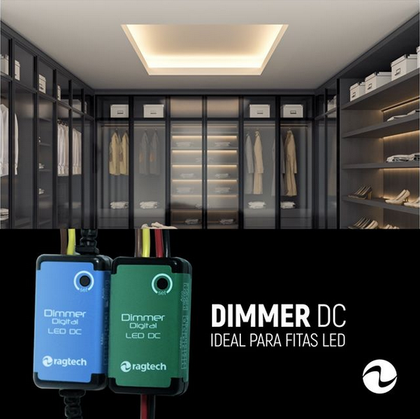 DIMMER DC ideal para FITAS LED